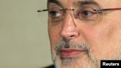 Giám đốc Cơ quan Năng lượng nguyên tử Iran Ali Akbar Salehi.