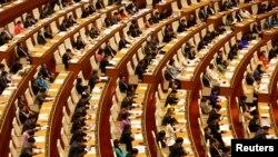 Một phiên họp quốc hội Việt Nam. Hình minh họa.