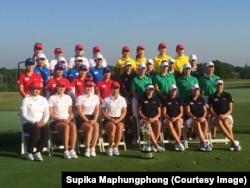 Thai women golfers international crown