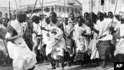 Ethiopians War Dance 1935