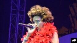 Macy Gray actua no 3º Festival de Jazz de Luanda, 2011