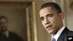 奥巴马总统5月27日在白宫记者会上