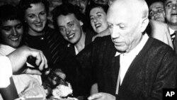 Пабло Пикассо. Франция. 24 октября 1956 г.
