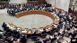 The United Nations Security Council, August 30, 2012 file photo.