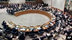 지난 8월 시리아 사태를 논의하기 위해 열린 유엔 안보리 회의. (자료 사진)