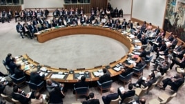 FILE - The United Nations Security Council