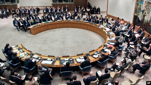 The United Nations Security Council (file photo)
