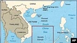 ໝູ່ເກາະ Spratleys ຊຶ່ງເປັນເຂດນຶ່ງທີ່ມີການຂັດແຍ້ງກັນ ລະຫວ່າງບັນດາປະເທດໃນກຸ່ມ ASEAN ແລະ ຈີນ