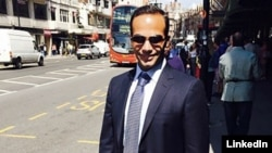 FILE - Former Trump campaign adviser George Papadopoulos is seen in an undated photo (George Papadopoulos/LinkedIn)