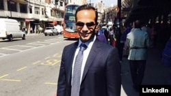 Former Trump campaign adviser George Papadopoulos is seen in an undated photo (George Papadopoulos/LinkedIn)