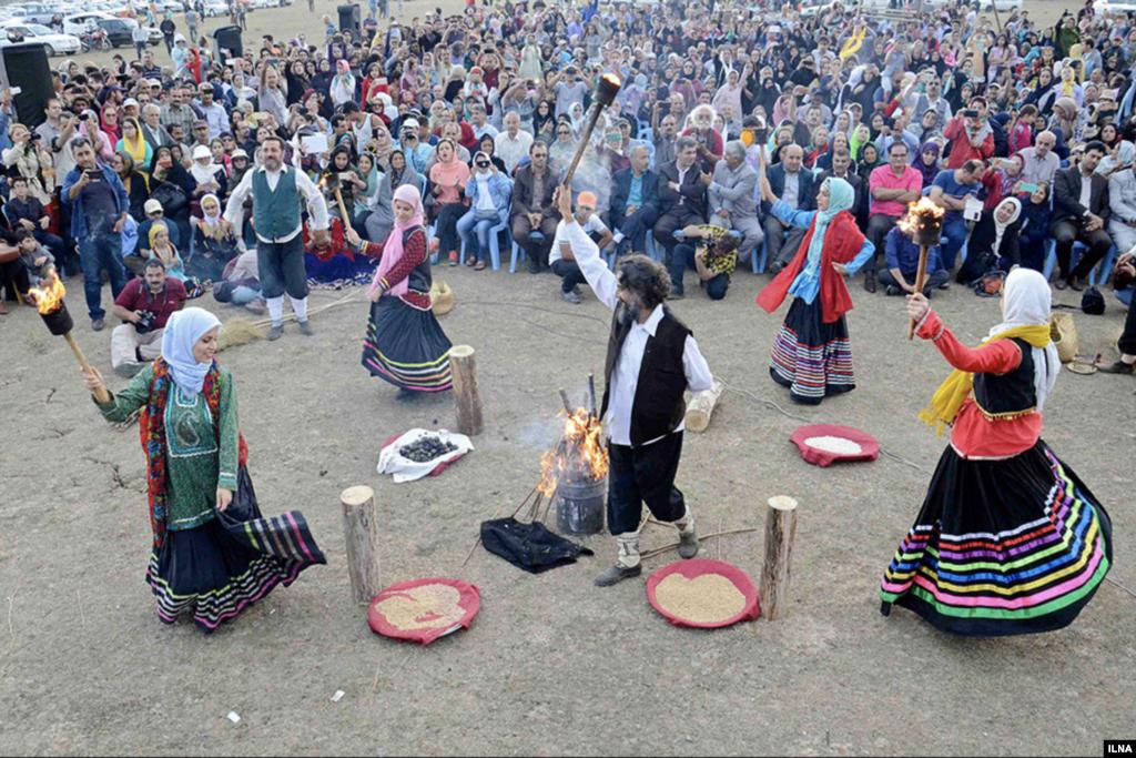 «نوروز بل»؛ آئین آغاز سال دیلمی در گیلان عکس: ابوذر حمیدی