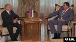 Dodik i visoki predstavnik medjunarodne zajednice Valentin Inzko