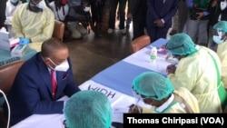 Zimbabwe VP at Wilkins Hospital Preparing for Covid 19 Vaccine