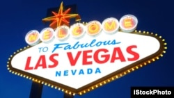 Tom thinks Las Vegas is an ideal vacation destination for his family and hopes his wife won't pour cold water on it.