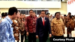 Presiden Joko Widodo di Gedung Dewan Perwakilan Daerah Komplek DPR MPR, Jakarta, Jumat 17 November 2017. (Foto Biro Pers Kepresidenan)