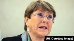 聯合國人權事務高級專員巴切萊特