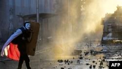 Aksi protes terhadap kesenjangan sosial di Santiago, Chile yang berakhir dengan kerusuhan (foto: dok).
