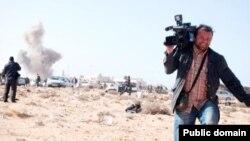 Cüneyt Ünal'ın Libya'da çekilen bir fotoğrafı