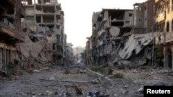 Ciudad de Deir al-Zor, Siria, así es la devastación y los rastros de la guerra en varias ciudades de esa República Árabe.