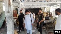 Suicide Bomber Targets Court Complex in Mardan, Pakistan