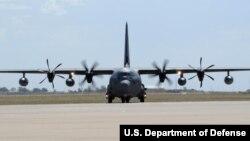 美國空軍MC-130J 特種作戰多功能運輸機。