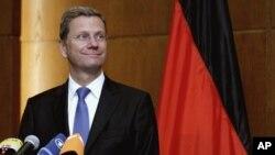 Almanya Dışişleri Bakanı Guido Westerwelle