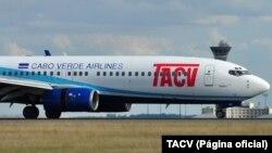 Avião da TACV, companhia aérea cabo-verdiana