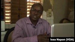 Anatole Zongo, secrétaire général du Syndicat national des enseignants du secondaire et du supérieur (SNESS)