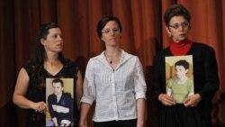 مادران کوهنوردان زندانی آمریکایی در ایران اعتصاب غذا می کنند