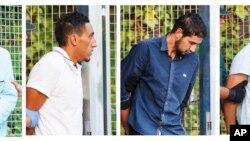 متهمان حمله بارسلون امروز در دادگاه حاضر شدند.