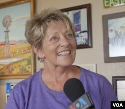 """Fran Houser, the inspiration for Flo in the 2006 movie """"Cars"""""""