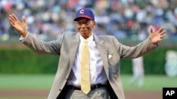 Ernie Banks, Aug. 13, 2013