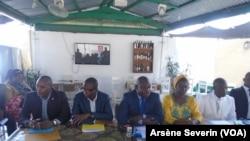 Les opposants se sont réunis à Brazzaville, au Congo-Brazzaville, le 30 juillet 2016. (Arsène Severin/VOA)