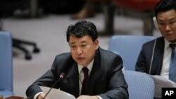 مقام کره شمالی در نشست شورای امنیت در نیویورک