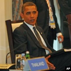 奥巴马在亚太经济合作组织峰会上