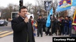 世界维吾尔大会(World Uyghur Congress)秘书长多力坤·艾沙(Dolkun Isa)(2015年12月30日)