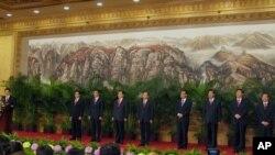 第17届中共中央政治局常委