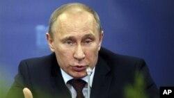 Vladimir Poutine, le président de la Russie