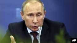Vladimir Poutine (archives)