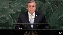 Выступление Георгия Квирикашвили на 72-ой сессии Генеральной Ассамблеи ООН