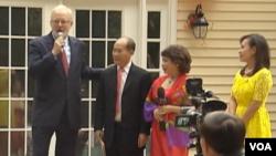 Đại sứ Shear nhấn mạnh rằng cộng đồng người Mỹ gốc Việt hiện đóng vai trò hết sức quan trọng trong mối bang giao song phương