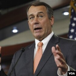 Ketua DPR Amerika, John Boehner