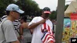 美國民眾慶祝獨立節