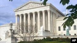 FILE - The Supreme Court in Washington, April 23, 2018.