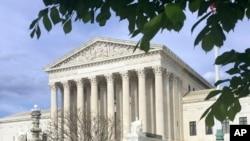 La Cour Suprême à Washington