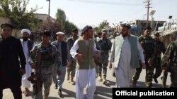 Jenerali Abdul Raziq, arongoye igipolisi mu ntara ya Kandahar
