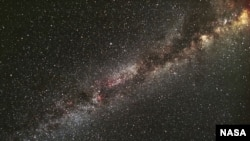 A section of the Milky Way as seen by the Kepler telescope.