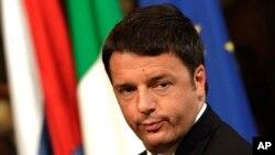 ماتئو رنزی نخست وزیر ایتالیا - آرشیو