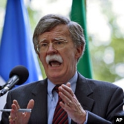 Former U.N. Ambassador John Bolton in New York (2011 file photo)