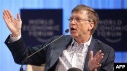 Билл Гейтс на Международном экономическом форуме в Давосе. 28 января 2011г.